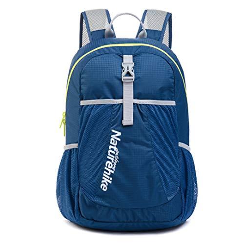 HENDTOR 22L Outdoor Wandern Camping Trekking Klettern Reise Smart Rucksack Falten Sporttasche Rucksack 5 Farben Navy Blue