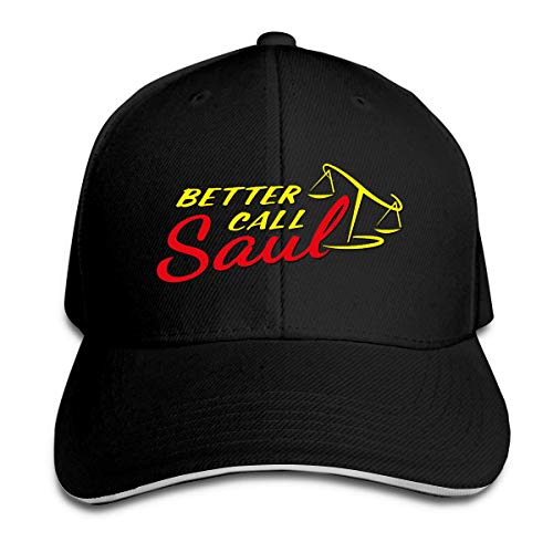 XBFHG Better Call Saul Logo Gorra de grillo Puntiaguda de Moda para Mujer y niño