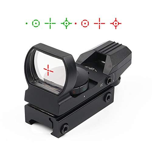 KINGSCOPE Red Dot Scope 4 Reticles Gun Sight Scope Reflex Sight for Airsoft Guns Pistol Shotgun with...