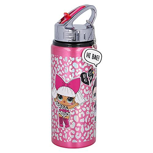 Bottiglia D'acqua In Alluminio 710 ml. Lol Surprise Born To Rock Fashion