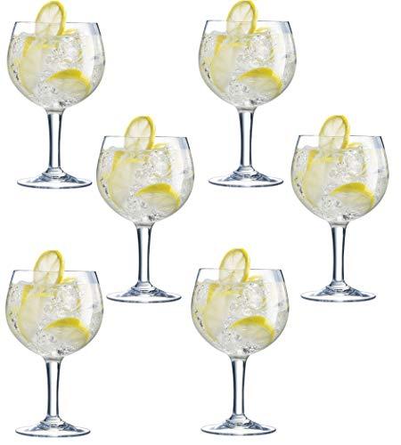 6 x Arcoroc Gin Glasses