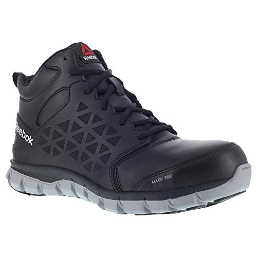 Reebok Work Sublite Cushion Work Mid EH Black 9.5 D (M)