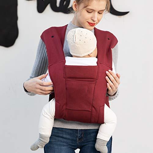 ASIERY 신생아 순 코튼 슬링 프론트 허그 신생아 아기 슬링 외출 전후 이중 사용 아기 포용 인공물 슬링 백 베이비 제품 호흡 가능한 베이비 슬링 (색채 : B)