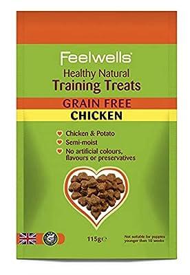 Feelwells Training Treats Grain Free 115g, transparent