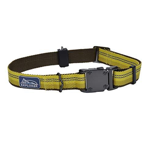 Coastal - K-9 Explorer - Reflective Adjustable Dog Collar, Goldenrod, 1' x 18'-26'