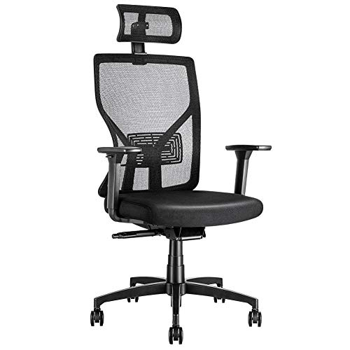 MOLENTS Ergonomic Executive Office Chair High-Back Computer Chair with Adjustable Seat Depth,Breathable Mesh Desk Chair, Swivel Task Chair for Home Office,3D Armrest,3 Position Tilt-Lock