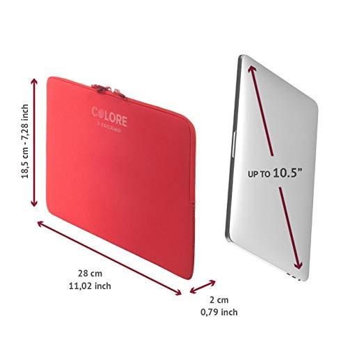 TUCANO Case für Netbook 9-10.5 inch Second Skin , rot