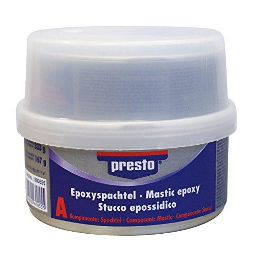 500g Prestolith SPECIAL 2K-Epoxyspachtel inkl. Härter PREMIUMQUALITÄT f. Unter-u.Überwasserarbeiten an Booten und KFZ