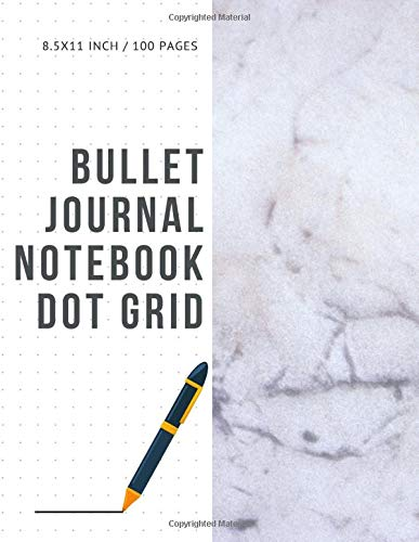 Bullet Journal Notebook Dot Grid: Cheap Composition Journals Books College Ruled To Write In Letter Paper Size 8.5 X 11 Volume 22