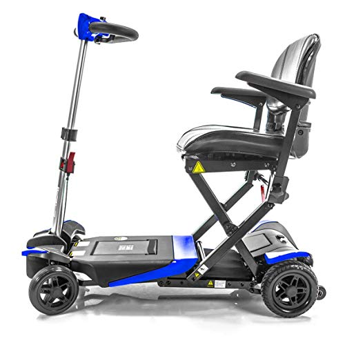Transformer Automatic Folding Travel Scooter BLUE