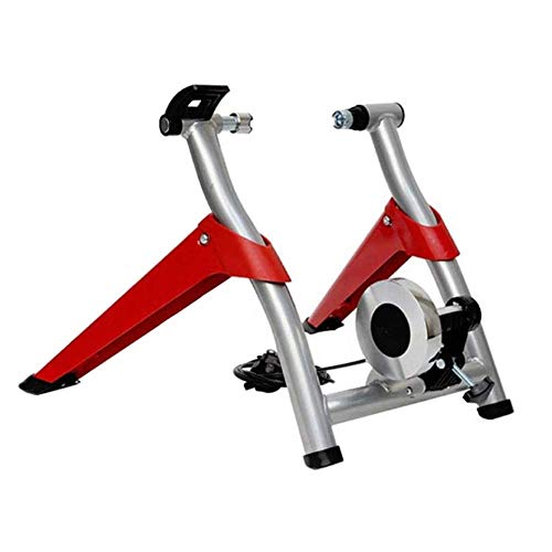 Folding Bicycle Training Device,Indoor Bike Trainer Exercise Bicycle Liquid Resistances Stand for 26'-28' Wheel for Road Bike