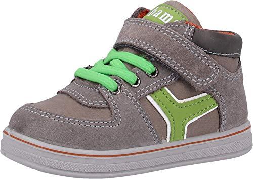 Bama Kids 1025294 Baby - Jungen Sneakers Mittelgrau, EU 21