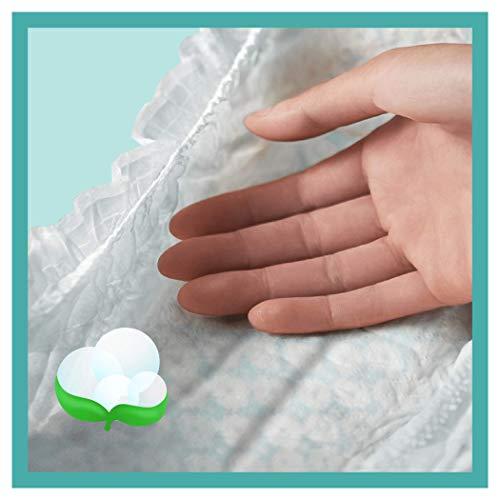 Pampers Baby-Dry Maat 4+ (10-15kg), 152 Luiers, Luchtdoorlatende Banen Voor Droge Ademende Huid En Extra Absorberend, Maandbox