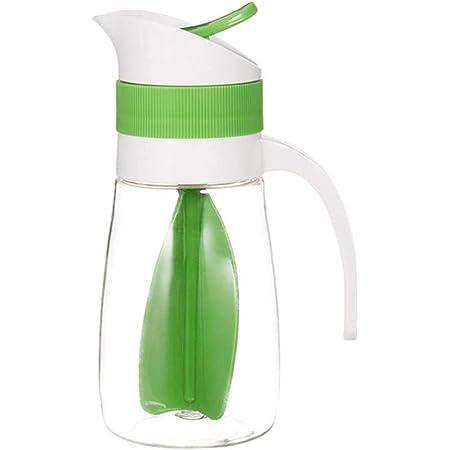 Brands Shaker à Vinaigrette Bouteille mélangeuse Les sauces Bouteille d'agitation Coupe de mélange pour la Cuisine (Vert)