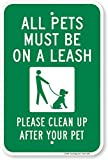 SmartSign'All Pets Must be on a Leash' Sign  ...
