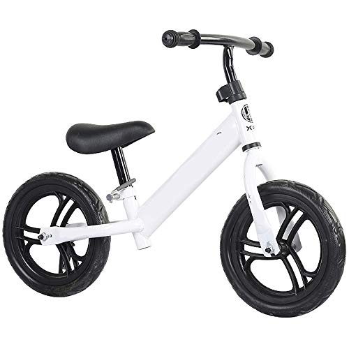 Best Deals! Kids Balance Bike Baby High Carbon Steel Balance Bicycle Without Pedal 2 Wheel Balance C...