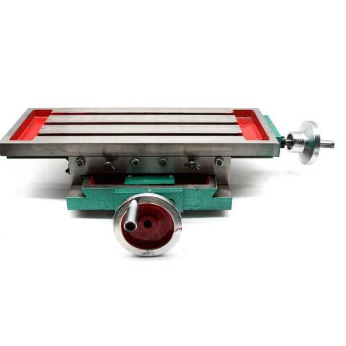 Mini Fresadora Metal - Fresadora de Mesa,Multifunción Precisión Fresado de Trabajo Mesa Fresadora Ligero de Perforación Mesa Mesa de Coordenadas (ruta en X: 230 mm, ruta en Y: 110 mm)