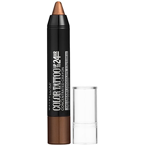 Maybelline Eyestudio ColorTattoo Concentrated Crayon,730 Creamy Chocolate, 0.08 oz.
