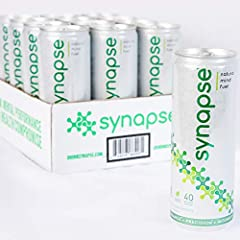 BEYOND ENERGY: The world's first healthy ready-to-drink natural nootropic supplement without the crash or jitteriness of energy drinks. Feel the Synapse effect in minutes - experience mental clarity and sustained focus to achieve more throughout your...