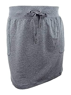 Ideology Women's Plus Size Active A-Line Skirt (3X, Charcoal Heather)