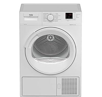 Beko DTLP81141W 8kg Heat Pump Tumble Dryer - White - A+ Energy Rated