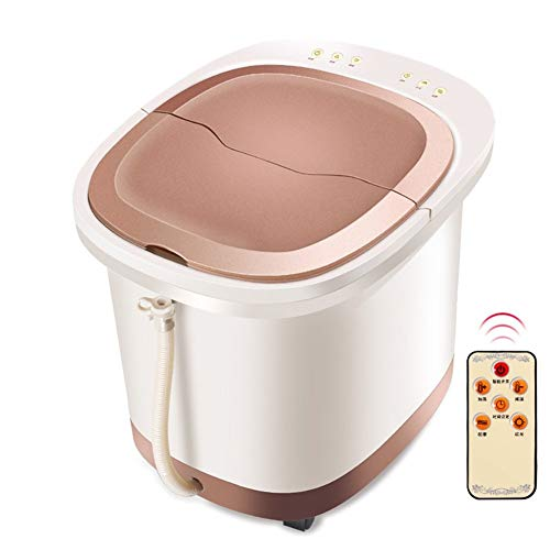 Z-Y Voetbad en Spa automatische verwarming naar huis voet badkuip diepe emmer, 37 x 39 x 36 cm