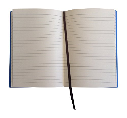 Kids Notebook A5 Journal - Notebooks For Boys & Girls Diary Writing Note Pad With Soft Cover. Use At School, College, Office or Home. Ruled Lined Paper Tween Teen Journals 8in x 6in (Twin Blue Orange) Photo #4