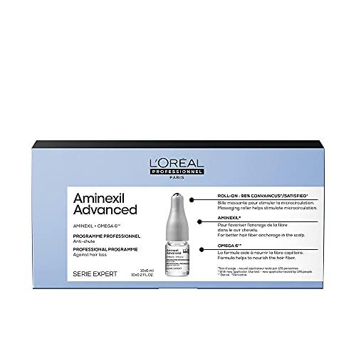 L'Oreal Professionnel Tratamiento anti caida de cabello en ampolleta con aminexil y omega 6 serie expert