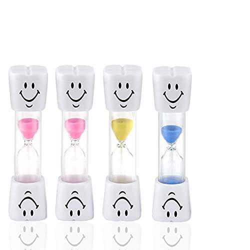 Accessori per il bagno, spazzolino creativo per bambini, clessidra, piccolo clessidra (durata di 3 minuti)