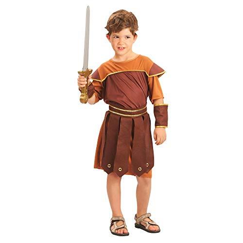 Déguisement Enfant Garçon Costume Soldat Romain 6 9 ans