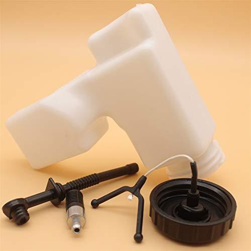 NAWQK Kit de línea de Manguera del Filtro de la Tapa del Tanque de Aceite Fit para Stihl MS180 MS170 MS 180 170 018 017 Motosierra Reemplace Las Piezas