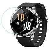 LvBU Für Blackview X1 Displayschutzfolie, 9H Härte Panzerglas Schutzfolie für Blackview X1 Smartwatch (3 Pack)