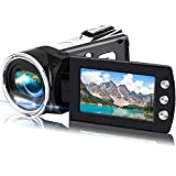 Video Camera Camcorder for Kids Full HD 1080P Mini Digital Camera Recorder for YouTube 24MP 2.8' Rotation Screen Digital Vlogging Camcorders for Teens Children Beginners