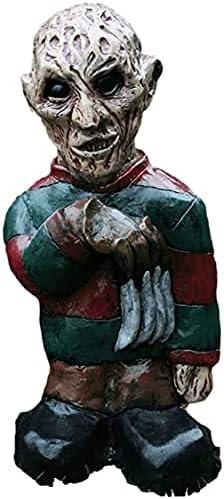 BRIANNAZZ Halloween Sculpture Latest item Combat Horror Outlet SALE Gnome Decoration Mo
