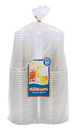 【業務用】 中村 PET樹脂 クリアーカップ (容量425ml) (50個入り)