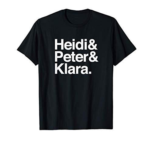 Heidi & Peter & Klara - Schweizer Kinderserie T-Shirt