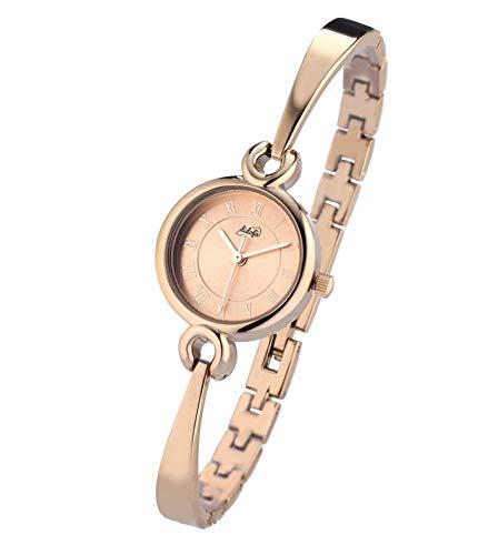 Didofà DF-303B - Reloj de Mujer de Acero Rosa