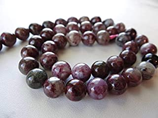 Jewel Beads Natural Beautiful jewellery Pink Tourmaline smooth round beads/9mm/7.5 inches longCode:- JBB-49049
