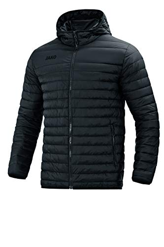 JAKO Herren Steppjacke Sonstige Jacke, schwarz, L
