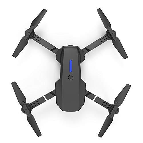 E88 WIfi FPV Drone con cámara 4K HD, Cuadricóptero RC con estuche, Tiempo de vuelo largo Retorno automático de una tecla, Modo de...