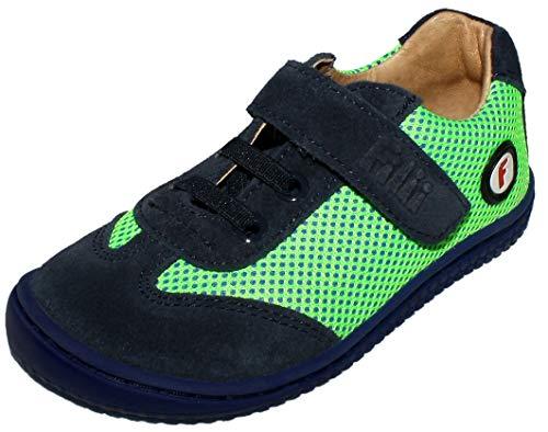 Filii Cooler Sneaker in Lemon/Marine Barefoot, Barfußschuhe Modell Salamander 20045 (Numeric_23)