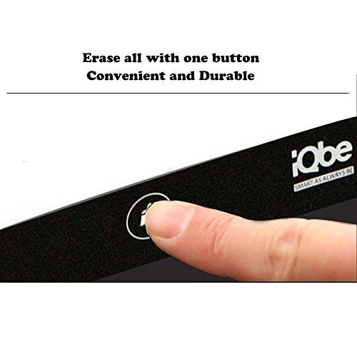 『iQbe 電子メモパッド 電子メモ帳 デジタルペーパー LW01-BK ブラック』の7枚目の画像