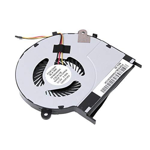 IPOTCH Ventola CPU Dissipatore di Calore per PC Wind Compatibile per Notebook Toshiba Satellite