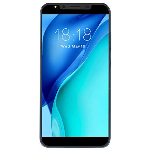 Goshyda Smartphone 3G de 5.72 Pulgadas, 512MB + 4G Dual SIM + Tarjeta de Memoria Micro dedicada Teléfonos celulares internacionales para Sistema Android OS 4.4(Blue)