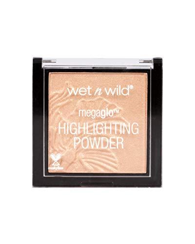 Wet N Wild Highlighter – MegaGlo Highlighting Powder mit hochpigmentierter Formel, Precious Petals, 1 Stück, 5,4g