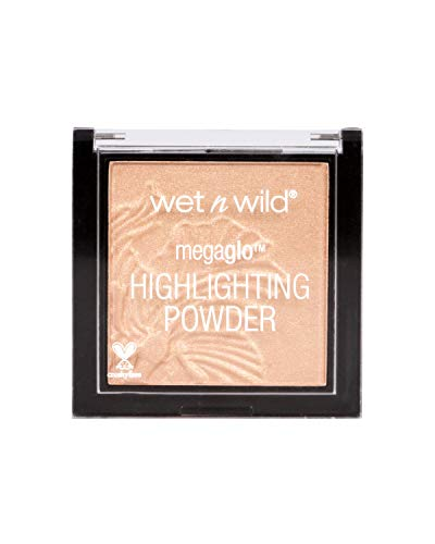 Wet N Wild Highlighter – MegaGlo Highlighting Powder mit hochpigmentierter Formel, Precious Petals, 1 Stück, 5,4g