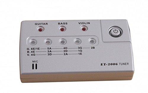 Stimmgerät für Gitarre, Bass und Geige