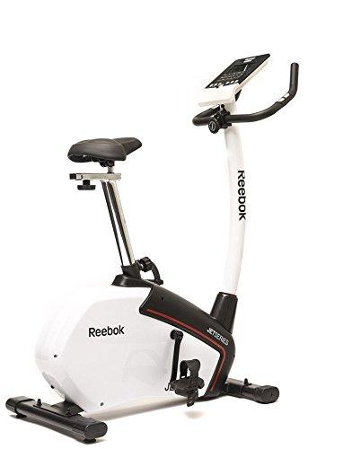 Reebok Erwachsene Heimtrainer Jet Serie Fitnessbike, Schwarz/Weiß, One Size