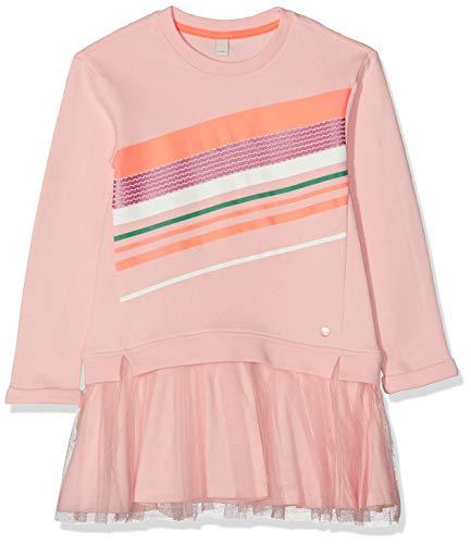 ESPRIT KIDS Mädchen Rp3100307 Knit Dress Ls Kleid, Rosa (Tinted Rose 331), (Herstellergröße: 128+)