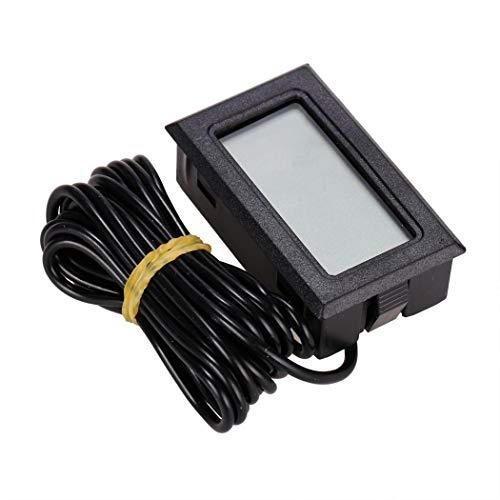 Biuday LCD Display Temperatur Tester Thermometer Sensor-automatische Temperaturregelung Einkochthermometer